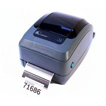 Zebra GX430T GX43-100410-000 Thermal Barcode Label Printer USB Network 300DPI