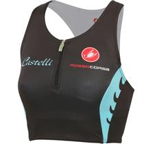 Castelli Body Paint Women's Tri Top Black/White/Blue Small