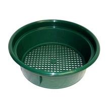 """Keene Engineering Economy Stackable Classifying Sieve Green 3/8"""" Made in USA"""
