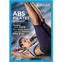 GAIAM Abs Pilates Workout DVD