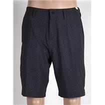 "Quiksilver Subtle 20"" Amphibian Shorts Men's 32 Black/Grey"