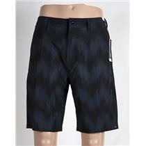 "Quiksilver Subtle 20"" Amphibian Shorts 32 Blue/Black"