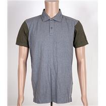 Quiksilver Baysic Polo Shirt Gray/Olive Medium