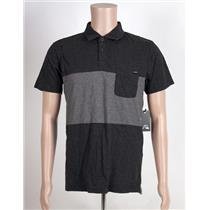 Quiksilver Shore Break Polo Grey/Dark Grey Medium