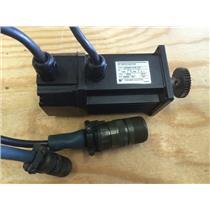 Yaskawa Servo Motor USASEM-02F J23 w/ UT0PI-200YA Encoder