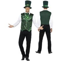 Smiffy's Men's Lucky Lad Leprechaun St Patrick's Day Adult Costume Large