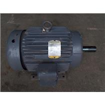 BALDOR MOTOR 15HP,1760RPM,3PH,60HZ,254T,0756M,TEFC,F1, M2333T