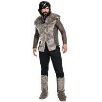 Rubie's Men's Zoolander 2 Derek Fur Coat Costume Standard Size