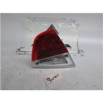 06-08 BMW E90 325i 330i 335i M3 left inner tail light 63216937459