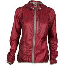 Club Ride Cross Wind Women's Cycling Jacket - Biking Red - Women's Small