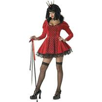 California Costumes Women's Dark Evil Sexy Queen of Hearts Adult Costume Small