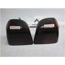 93-98 Volkswagen Golf GTI tail lights blacked-out 1EM945111A 1EM945112A