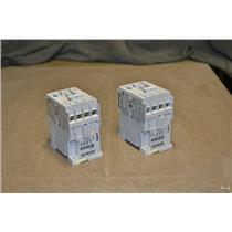 (LOT OF 2) ALLEN BRADLEY STARTER 100-C09 10 120V COIL SER A 100C0910