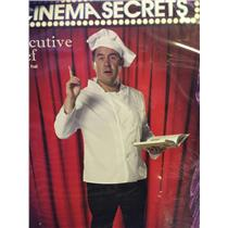 Cinema Secrets Executive Chef Plus Size Costume Coat and Hat Size 3XL