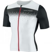 Louis Garneau Course M-2 Tri Cycling Jersey - White - Women's Medium