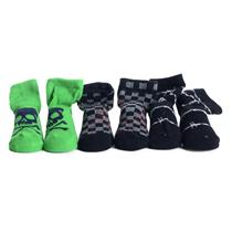 0-24 MOS NEW & AUTHENTIC Juicy Couture Baby Boys 3 Pair Sock Set w/ Box JCMNB810