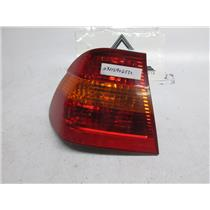 01-05 BMW E46 left outer tail light 325i 330i 63216946533
