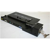 Lenovo ThinkPad Mini Dock Series 3 4337 Keys & Charger 75Y5734/5 Docking Station