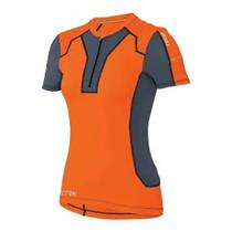 2XU XTRM Compression S/S Top - Sunburst Orange - Women's Small