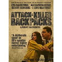 Lot of 5 Brand New Attack of The Killer Backpacks (DVDS) - Zombie films -A