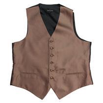 NEW Fumagalli's Mens Formal Tuxedo Diamond Print Red Button Front 100% Silk Vest