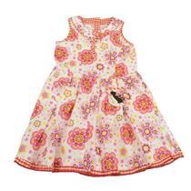 4y NWT Me Too Taja Bam Spencer Dress Kitty Embroidery Pocket Plaid Button Euro