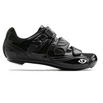 Giro Men's Apeckx Cycling Shoes Solid Black - 42 EU 8.75 US - 3 Bolt