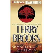 2 BRAND NEW - TERRY BROOKS Armageddons Children Genesis Of Shannara Series -A