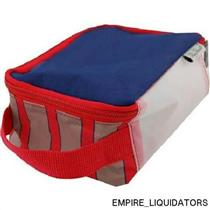 BlueAvocado Travel Block by Ross Bennett - Petite RED/BLUE w/ Tags  -A