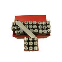 """3/8""""  10MM Letter & Number Punch Stamp Set Metal-Steel-Hand A-Z *BIG SIZE* 36Pcs"""