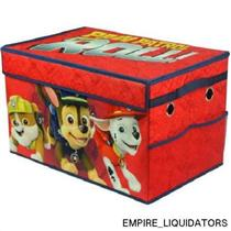 BRAND NEW - Nickelodeon Paw Patrol Boy Collapsible Toy Storage Trunk MULTI COLOR