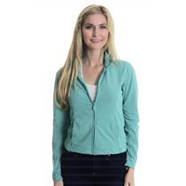 Sz S Adidas Clima365 Teal Long Sleeve Full Zip Mock Neck Track Jacket w/ Pockets