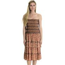 NWT XS Karen Kane Pink Floral Print Sequoia Wrap Top Strapless Knee Length Dress