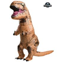 Rubie's Costume Co Men's Jurassic World T-Rex Inflatable Adult Costume
