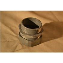 (Box of 5) Peco 153 Hex Nut Type Watertight Connector 2 Inch