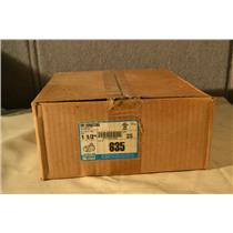 "(Box of 25) Topaz Cat# 635, 1-1/2"" EMT Set Screw Connectors, Zinc Dye Cast"