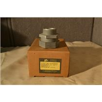 """(Box of 5) Peco 152C Hex Nut Type Watertight Connector 1-1/2"""", For 3/0-3 Service"""