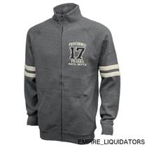 BRAND NEW - NCAA Men's Small Benchmark Full Zip Jacket - Heather gray w/ Tags -A