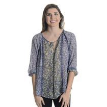S Joie Gloria C Lemonade Purple Silk Chiffon Floral Print Tie Neck Blouse Top