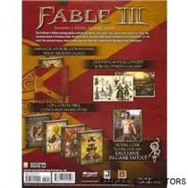 BRAND NEW - SEALED - Fable III [Hardcover Book] By Doug Walsh (445 pages ) -A