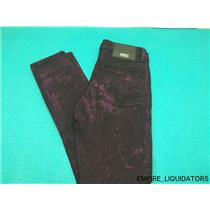 W25 x L32 WeSC Juniors Lizzy Riot Jeans - Black/Purple ( No Tags ) -A