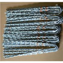"(Lot of 50) 3/8"" Dead Guy Dead Ends, Tyco SGG 0915, SGG0915, Galvanized Steel"