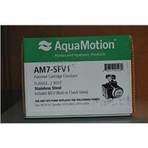 AquaMotion AM7-SFV1 Stainless Steel Circulator Pump, 120V 125 PSI w/ Check Valve