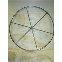 "Boaters Resale Shop of TX 1703 2141.01 YACHT SPECIALTIES CO. 40"" STEERING WHEEL"