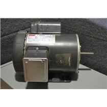 Dayton 1K065BA, 1HP General Purpose Motor, 1725 RPM, 1Ph, 115/208-230V Frame 56H