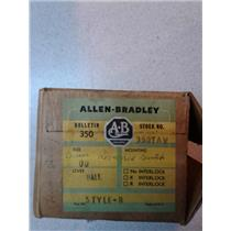 Allen And Bradley 350 TAVA Reversing Drum Switch