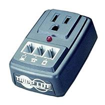 Tripp Lite SMP Notebook Computer and Phone-Line Surge Suppressor wall mount