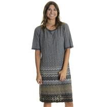 NWT L Authentic Pendleton Mission Stripe Camel Heather/Grey Heather Multi Dress