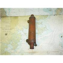 """Boaters Resale Shop of TX 1706 1742.05 BRONZE 2"""" x 12"""" HEAT EXCHANGER"""