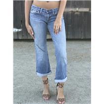 Sz 28 Joe's Jeans Low Rise Honey Bootcut Jeans Credence Light Stretch Vintage